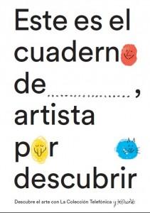 Portada de Descubre el arte con la Colección Telefónica, libro que acompaña a la exposición.