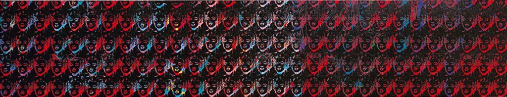 Ciento cincuenta Marilyns multicolores, por Andy Warhol, Museo Guggenheim Bilbao.