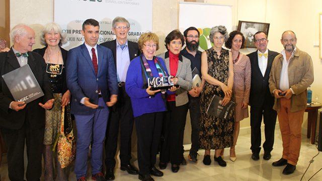Premio Nacional de Grabado a la trayectoria de Eude