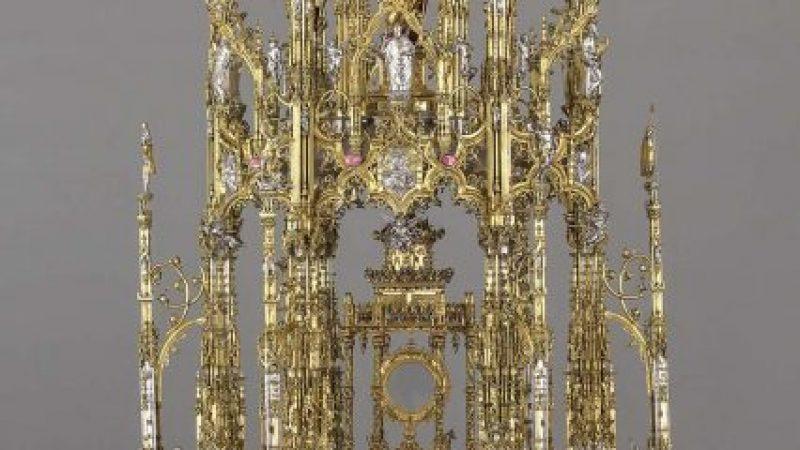 La Gran Custodia Procesional de Toledo, restaurada