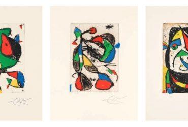 Subasta: Miró y los refugiados