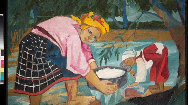 Goncharova-Natalia-Campesinas-Óleo-sobre-Lienzo-1910.jpg