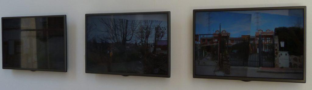 Anna Katharina Scheidegger: La Cañada Real Galiana. Una panorámica ausente, instalación, 2016.