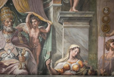 Restauración de la Sala de Constantino