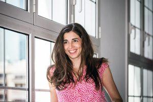 Joana Hurtado, responsable del programa de artes visuales del Centro Cívico Can Felipa. Fotografía: Juan Diego Valera.