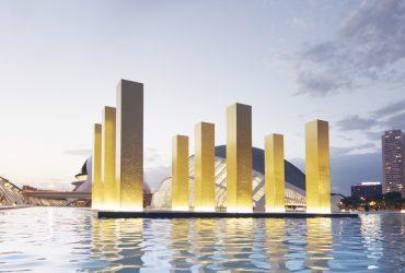 Las columnas megalíticas de Heinz Mack