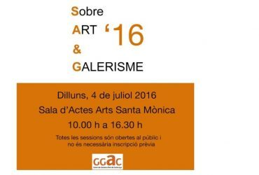 IV Jornadas de Arte y Galerismo