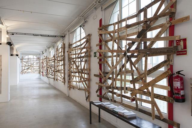 Obra de Ignacio Garcia Sanchez en la exposición Que podem.