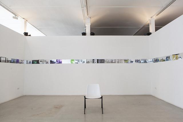 Obra de Oriol Nogues en la exposición El martell sense mestre.