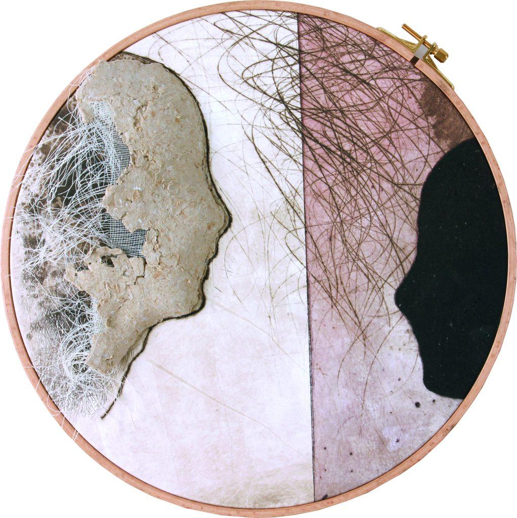 Obra de la serie Memoria de papel, 435 cm.