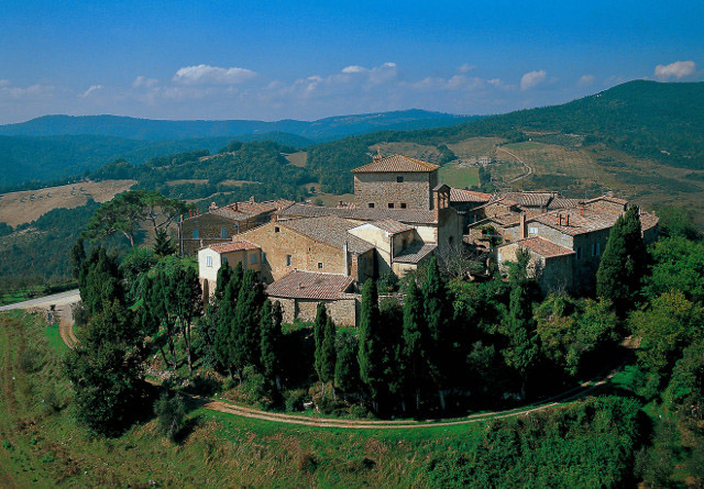 Pueblo medieval de Murlo.
