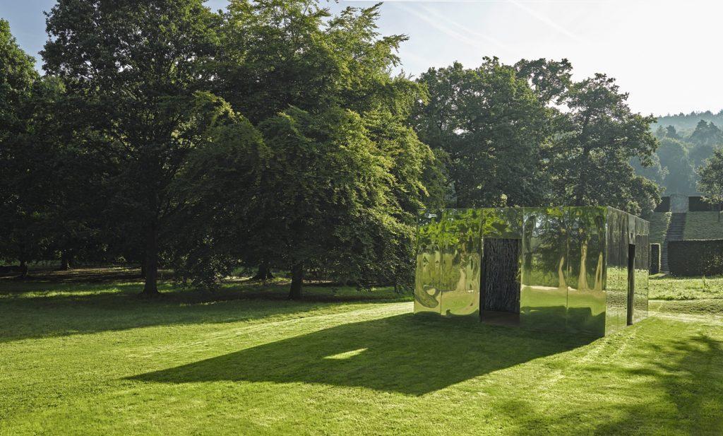 Habitación vegetal XV (Doble pasaje), de Cristina Iglesias, 2008.