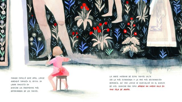 Louise Bourgeois entretejida