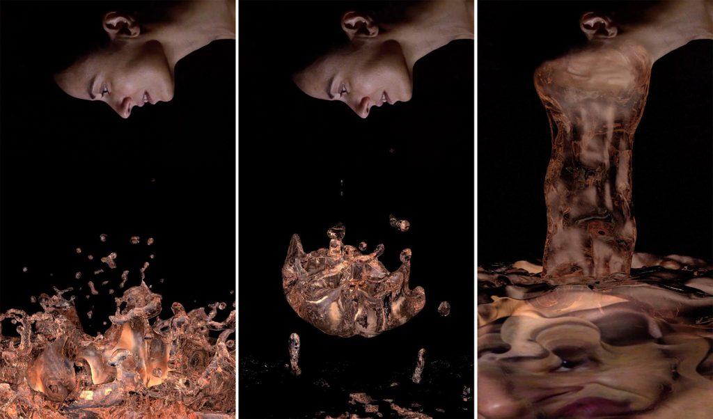Fluye la carne, de Marina Núñez, 2015, Vídeo monocanal, sonido, 2', serie de 3 + 1 PA.