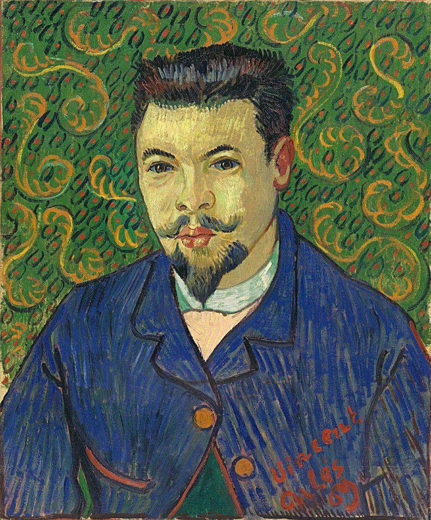Retrato de Félix Rey, de Vincent van Gogh, 1889, Museo Pushkin de Moscú.
