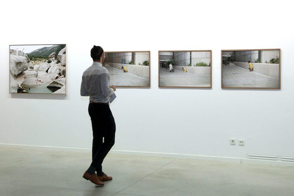 Las fotografías de Lucía Artebi en el Centro de Arte Alcobendas.