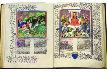Joyas bibliográficas al servicio de reyes y emperadores