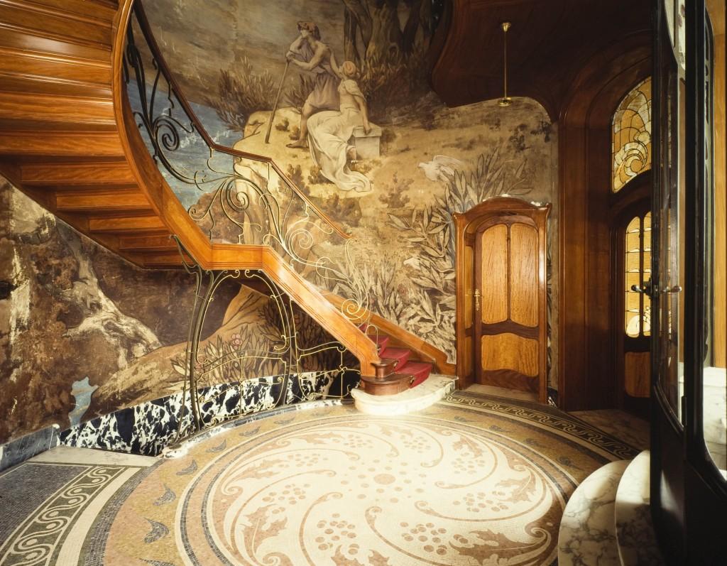 Hotel Hannon, un proyecto de Jules Brunfaut.