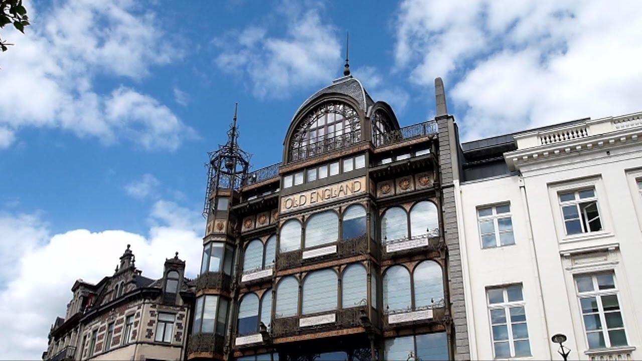 Old England Shops, diseño de Saintenoy.