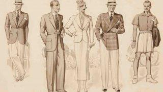 Figurines: la elegancia en el vestir