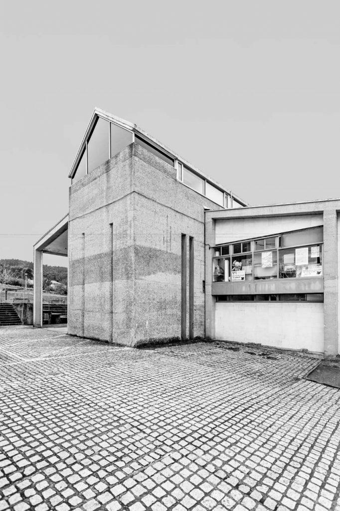 Casa de Cultura de Valdoviño, 1981-1993 © Enrique Domínguez Uceta.