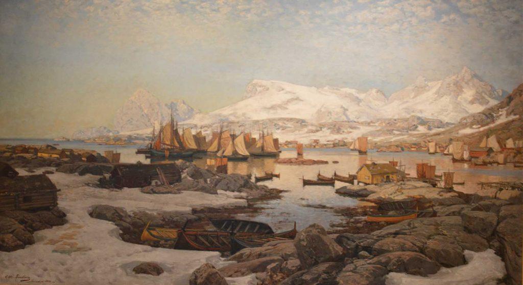 Otto-Sinding Sinding Spring Day In Lofoten.