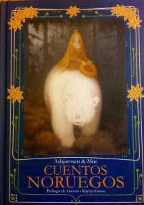 Ilustración de la cubierta de Theodor Kittelsen.