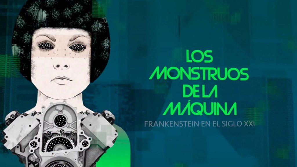 "Sobre estas líneas, cartel de la exposición. Arriba, The Brain of the Planet"", de Fernando Gutiérrez."