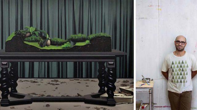 Diorama de Antonio Montalvo, II Premio Solán de Cabras de Arte Joven en ARCOmadrid 2017