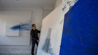 La pintura expansiva de Alberto Reguera