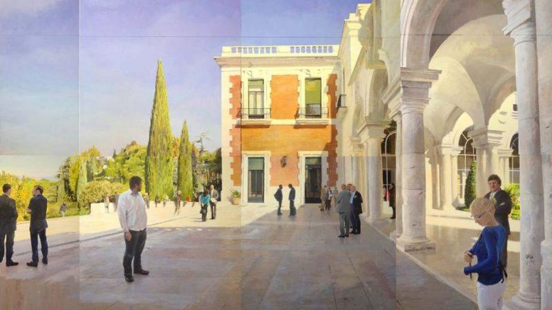 Martín Giraldo, el pintor de la calle
