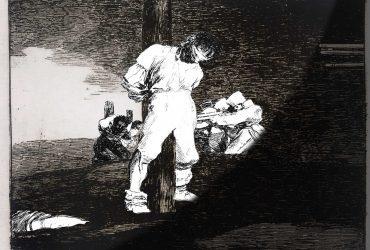 Farideh Lashai conversa con Goya sobre la guerra