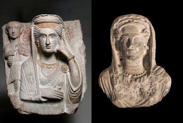 Los rostros pétreos de Palmira