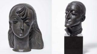 Pablo Gargallo: rostros esculpidos en chapa de plomo
