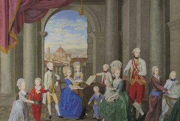 Los nietos de Carlos III reúnen a su parentela en Florencia