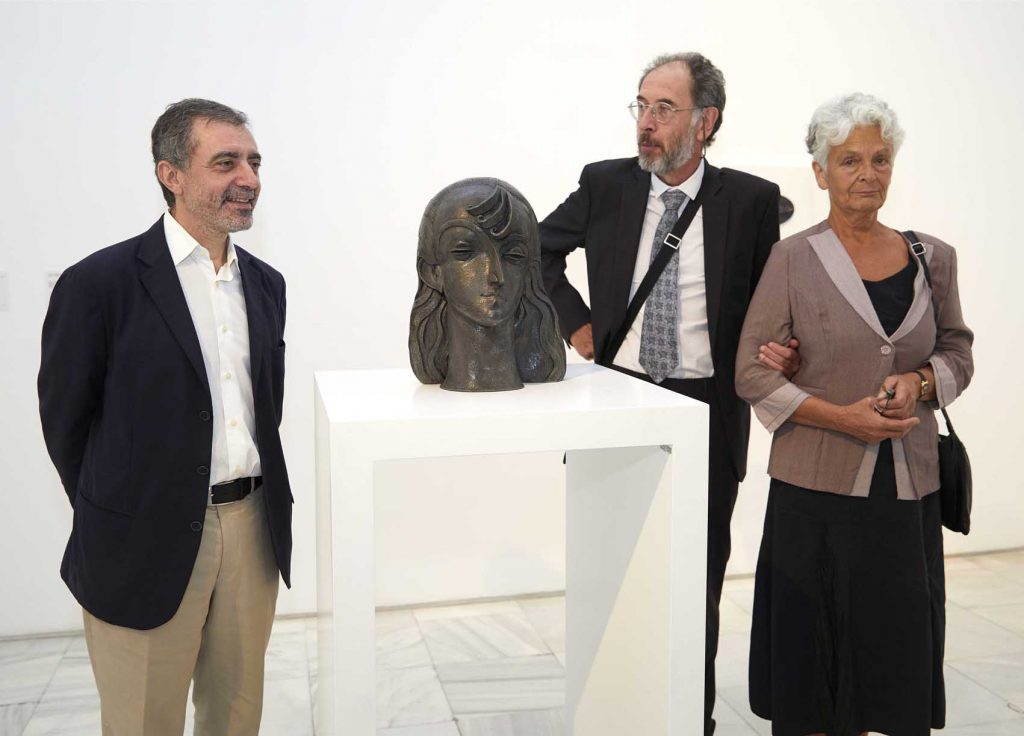 Pablo Gargallo: rostros esculpidos en chapa de plomo Artes & contextos Presentaci%C3%B3n donaci%C3%B3n 3