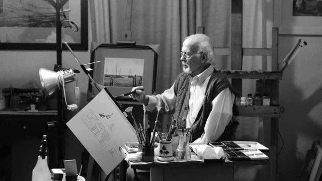 Fallece el pintor y restaurador Lucio Sobrino