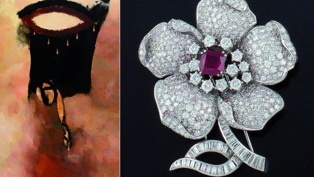 Sala Retiro: subasta de obras de arte y joyas