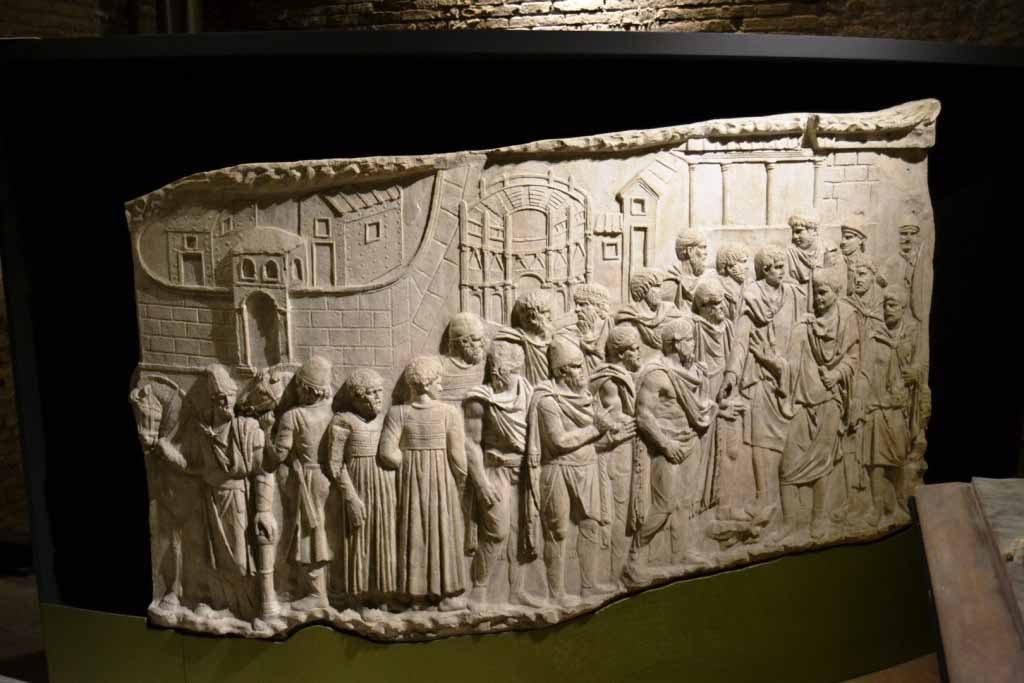 Trajano: constructor de los cimientos de Europa Artes & contextos 16 Calchi della Colonna di Traiano 2