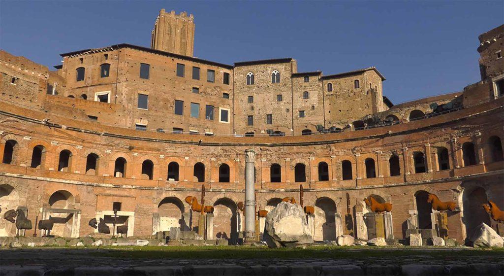 Trajano: constructor de los cimientos de Europa Artes & contextos Mercati 1