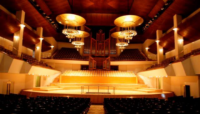 Sala Sinfónica del Auditorio Nacional de Madrid.