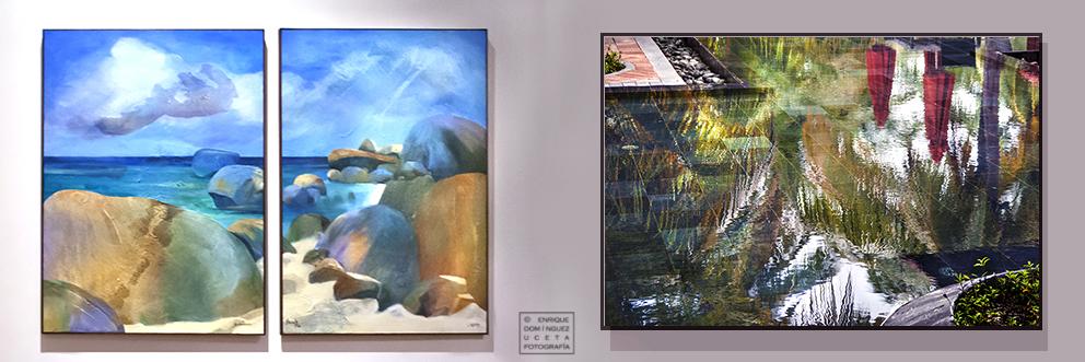 Paisajes de Seychelles sirven de argumento al trabajo de pintores y fotógrafos. © Enrique Domínguez Uceta