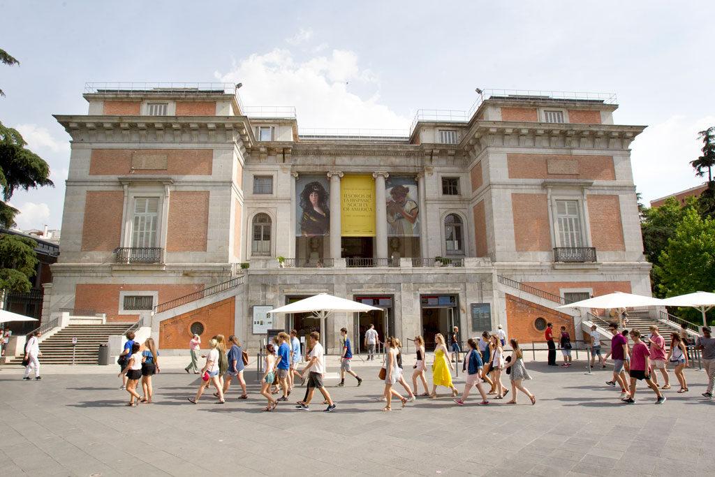 Fachada del Museo de El Prado