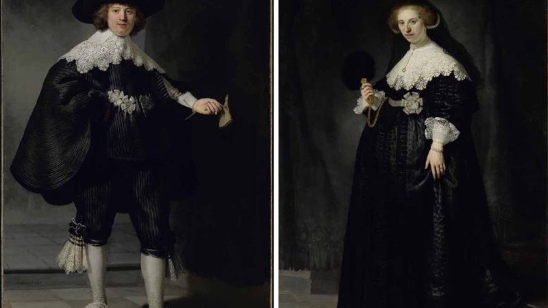 Cuatro siglos de retratos con glamur a tamaño natural