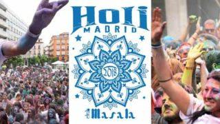 Festival HoliMadrid 2018: la fiesta de los colores