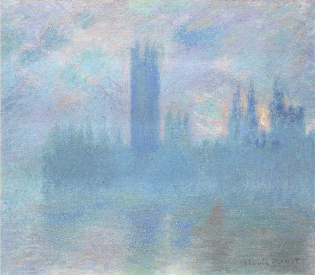 Cuando los impresionistas franceses se exiliaron en Londres Artes & contextos 18. Claude Monet Le Parlement de Londres