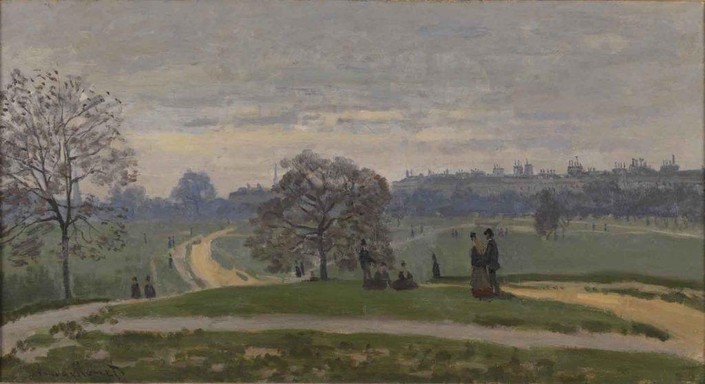 Cuando los impresionistas franceses se exiliaron en Londres Artes & contextos 2. Claude Monet Hyde park