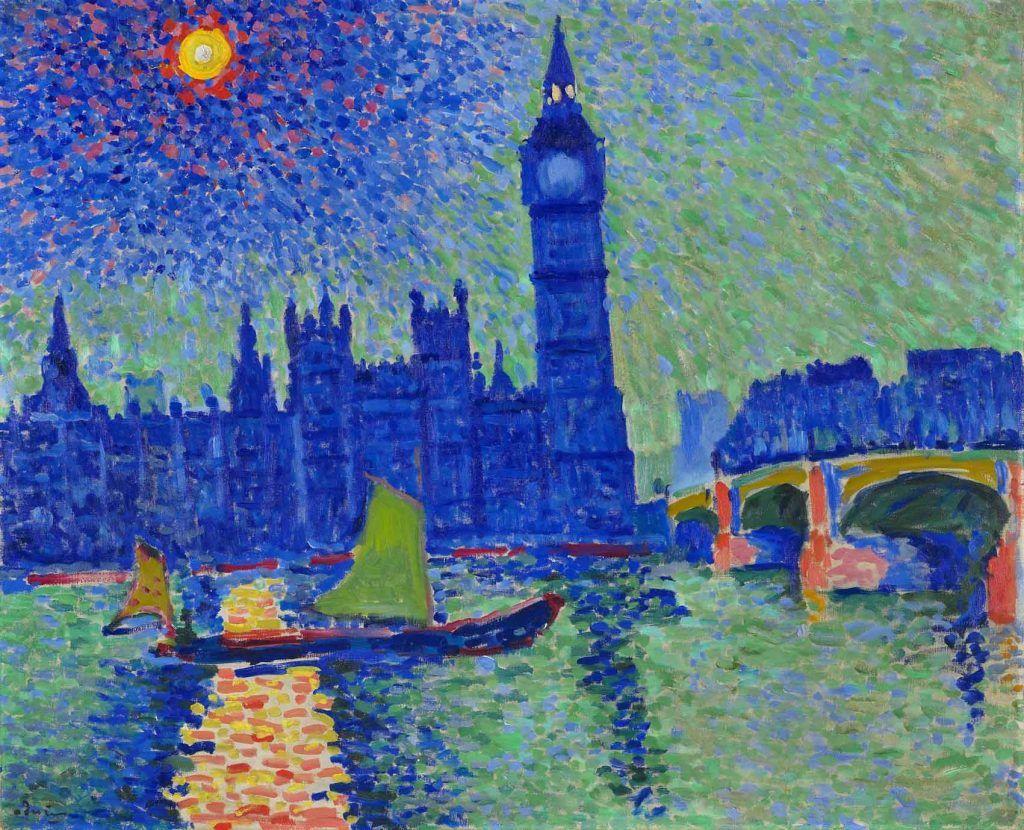 Cuando los impresionistas franceses se exiliaron en Londres Artes & contextos 20. Derain Big Ben