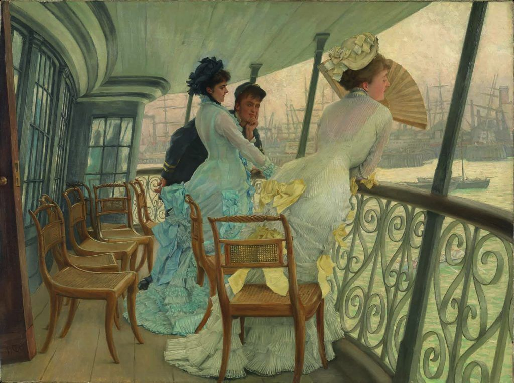 Cuando los impresionistas franceses se exiliaron en Londres Artes & contextos 7. James Tissot La Galerie du HMS Calcutta