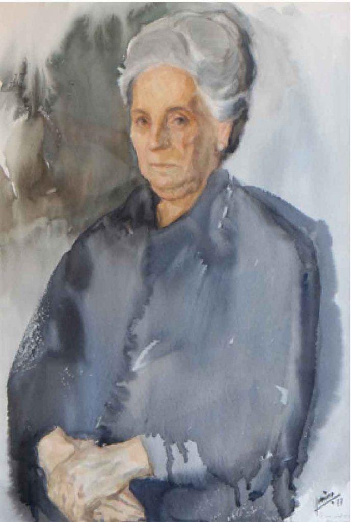 Lucio Sobrino regresa a Medina del Campo Artes & contextos retrato de su madre